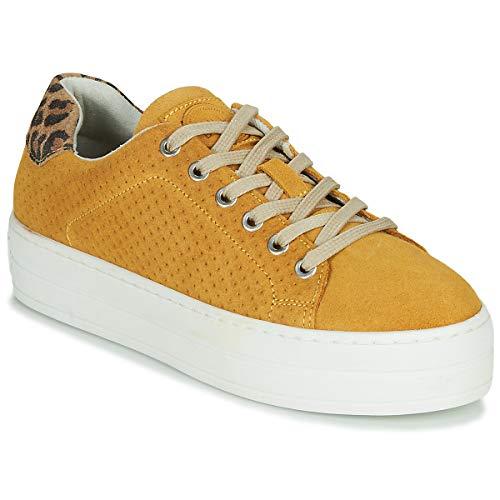 BULLBOXER 987033E5C Sneakers dames Geel Lage sneakers