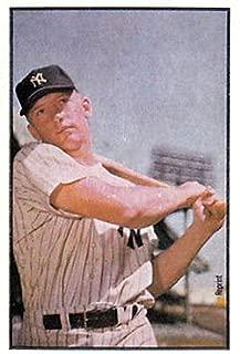 Mickey Mantle 1953 Bowman Reprint Baseball Card
