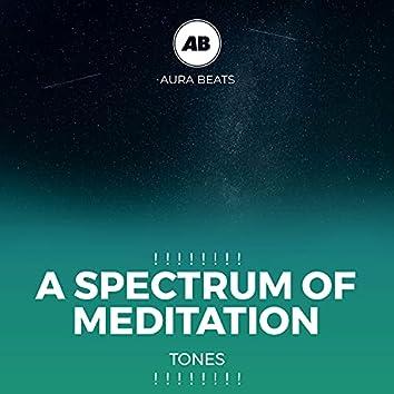 ! ! ! ! ! ! ! ! A Spectrum of Meditation Tones ! ! ! ! ! ! ! !