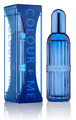 Couleur Me Bleu Eau de Toilette en flacon Vaporisateur pour homme 90 ml