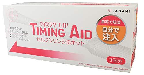 TIMING AID (タイミング エイド) 3キット入り (採精容器、採精容器スタンド、シリンジ、カテーテル)