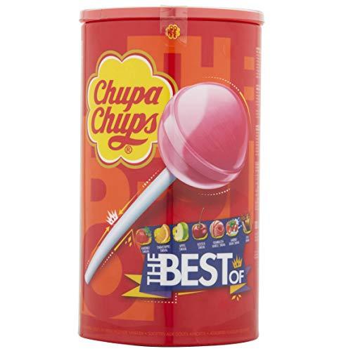 Chupa Chups The Best Of Lollipop Tube (Pack of 100)