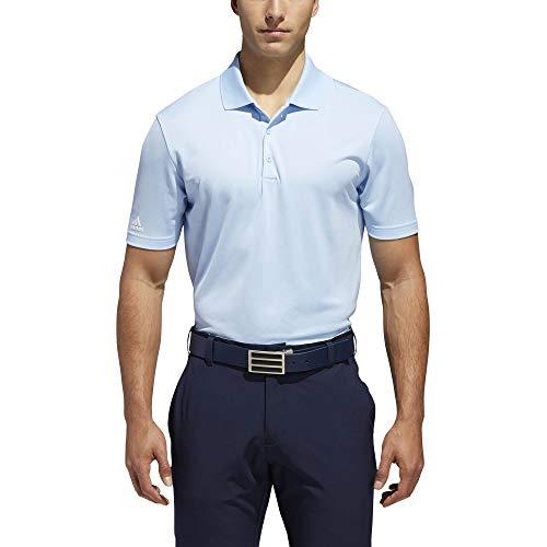 adidas Polo Performance para Hombre, Hombre, Polo, TM3060S6, Cielo Transparente, S