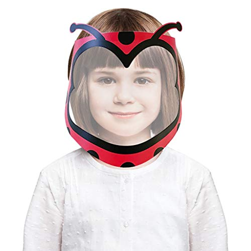 Windproof Dust Proof Hat Shield Protect Eyes and Face for Boys and Girls Mouth Protection Covering for Outdoor