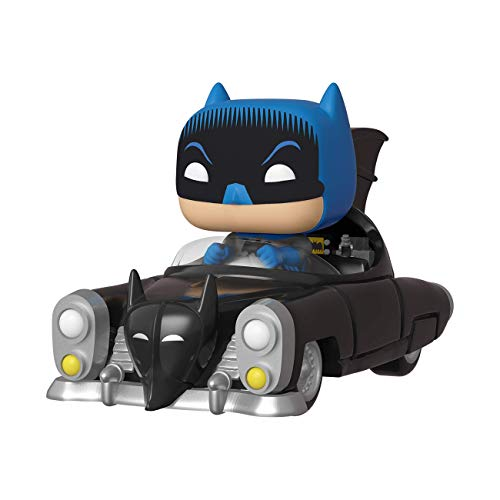 Funko- Pop Rides 80th: Batman (1950) Figura Coleccionable,
