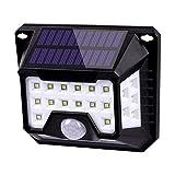 Luz Solar Exterior 32 LED KRASTY - Lámpara de techo (blance 1)
