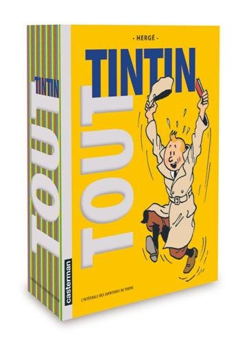 Tout Tintin : L'intégrale des aventures de Tintin