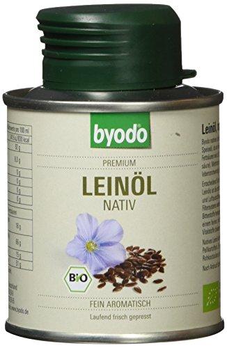 Byodo Natives Leinöl, 1er Pack (1 x 100 ml) - Bio