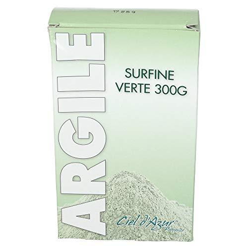 Ciel d'Azur Argile Montmorillonite Surfine 60 Microns 300 g - Lot de 2