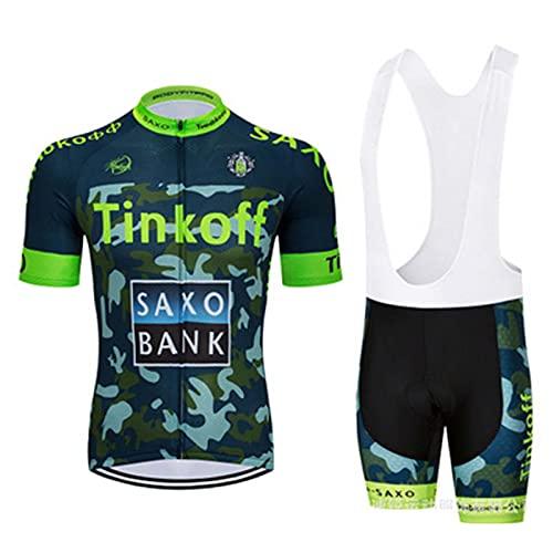 GJHJ Summer Cycling T-shirt Jersey Mens Classic Bike Short Sleeve Clothing Full Zipper Quick-dry Shirt Road Bike Sportswear