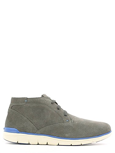 Bottines-Boots, color Gris , marca STONEFLY, modelo Bottines-Boots STONEFLY WOODY 2 VELOUR Gris