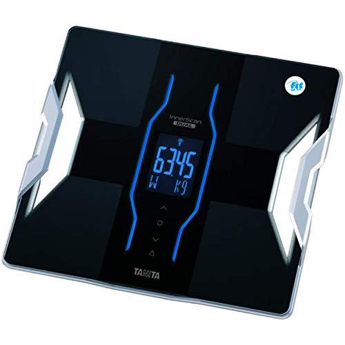 Fit for Fun RD-953 – Bilancia digitale pesapersone per misurare grasso corporeo e massa muscolare, bilancia intelligente per analisi del corpo, compatibile con diverse app Health