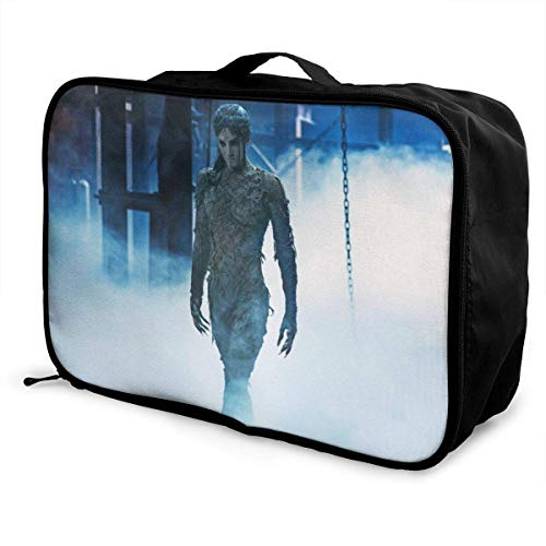 Bolsa de viaje para momia, plegable, impermeable, ligera, portátil, de alta capacidad,...
