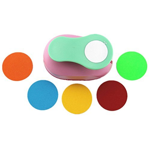 CADY Crafts Punch 2-Inch Paper Punches Craft Punches (Circle 5cm)