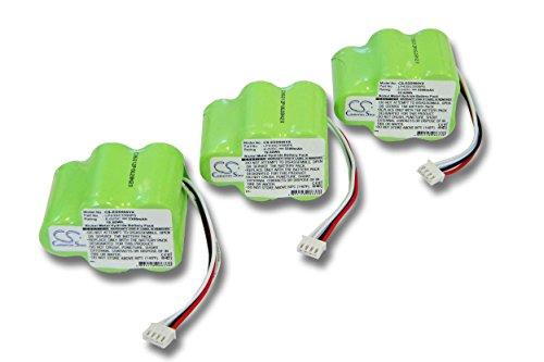 vhbw 3x Batería Ni-MH...