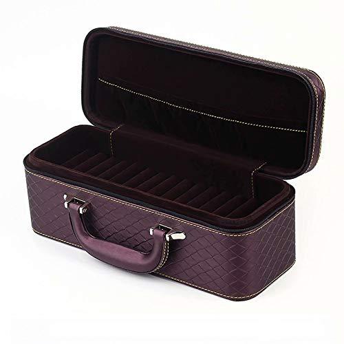 CHENSQ Joyero, caja de almacenamiento de joyas, caja de maquillaje compacta con cerradura, con regalos para niñas y mujeres.