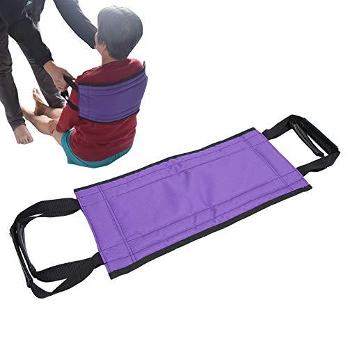 Arnés de paciente para ancianos discapacitados, cinturón de elevación para ancianos con herramienta auxiliar de doble mango para personas mayores, pediátricas, ancianos, discapacitados