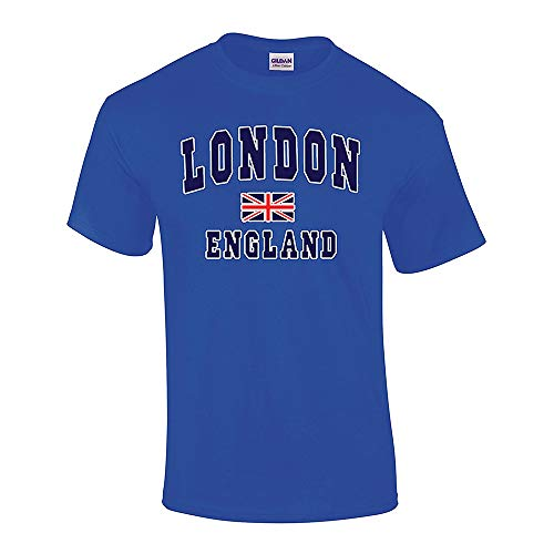 Advance Apparel London England Unisex Hombres Mujer Camiseta