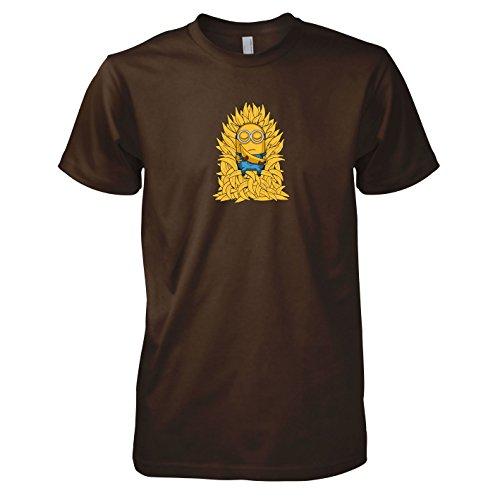 Texlab - Banana Throne - Herren T-Shirt, Größe XXL, braun