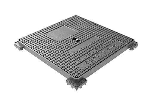 Jardibric - Regard hydraulique carré Classé B 125 (500 x 500 mm)