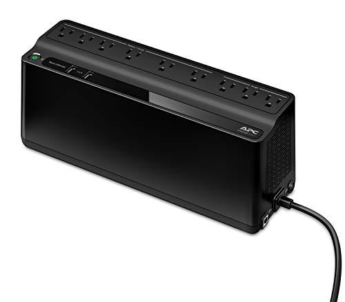 APC BE850M2-LM No Break Regulador de Tension, color Negro, 8 h/850 VA/450 W, Paquete de 1