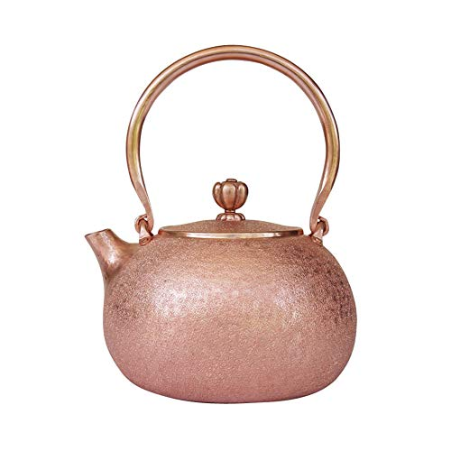 Resumption of Work Manual Copper Pot, Exquisite and Durable Multifunctional Tea Set, Health and Safety Kettle, Household Coffee Pot