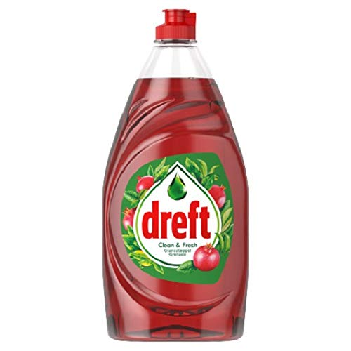 Dreft 4er Pack Handspülmittel Clean & Fresh - Granatapfel - 800ml