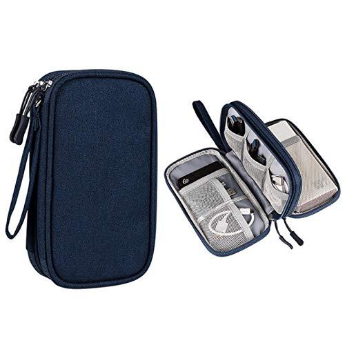 Aiovemc Bolsa de Almacenamiento de Accesorios Digitales Bolsa de Almacenamiento USB Bolsa de Almacenamiento de múltiples Capas