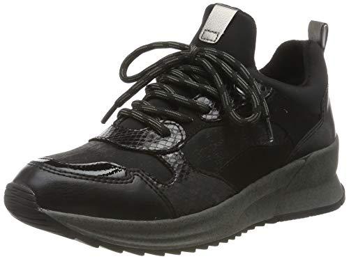 Tamaris Womens 1-1-23728-33 Sneaker, Schwarz, 38 EU