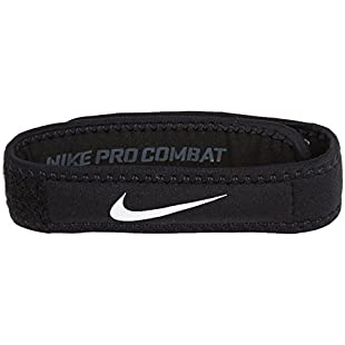 Nike Pro Patella Band 2.0Patella Band, Unisex, N.MN.04.010.SM, black/white, S/M
