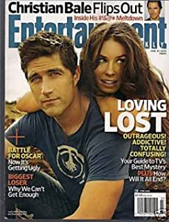 Entertainment Weekly; February 13, 2009 (Loving Lost, Christian Bale Flips Out)