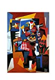 La jaula para pájaros de Pablo Picasso Cuadro Decoración Pared Cuadros Para Dormitorios Modernos Lienzo Cuadros Decorativos Decoracion de Salones (35x50cm14x20inch, sin marco)