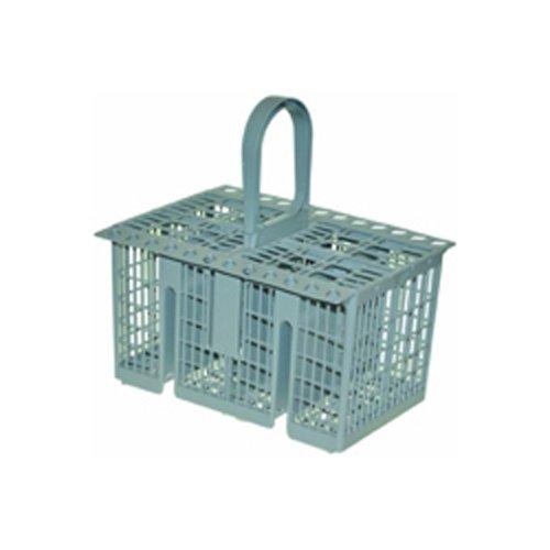 Lave-vaisselle Indesit C00257140 Accessoires Vaisselle Panier/Panier à couverts/Gris