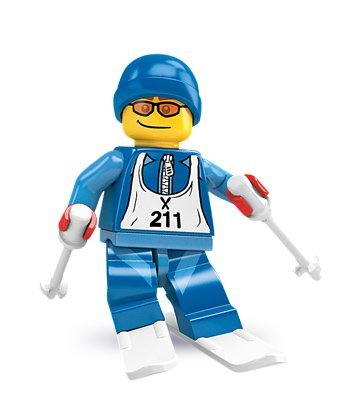 Lego Collectable Minifigure Series 2 - Downhill Skier (Sealed) by LEGO