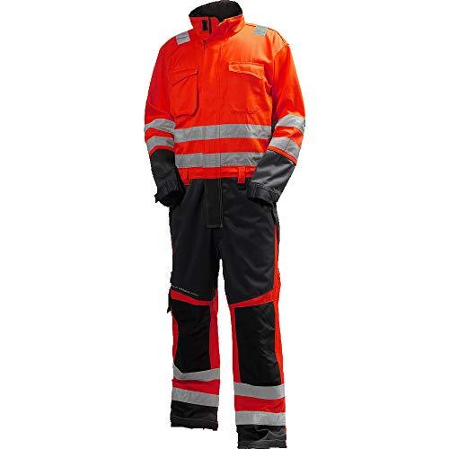 Helly Hansen Workwear Helly Hansen Vêtements de Travail Adulte Mixte, Rouge/Charbon, C62-Waist 44\