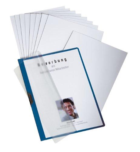 Durable 258607 Duraclip® Bewerbungsset PROFI, für 3 Bewerbungen, dunkelblau