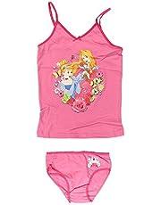 Conjunto de camiseta de tirantes de princesas Disney