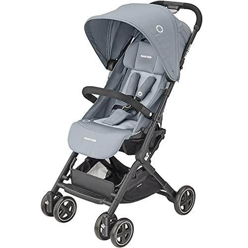 Maxi-Cosi Lara2 Buggy, leicht, kompakt, leicht zusammenklappbar, von Geburt bis 4 Jahre, bis 22 kg, Essential Grey (Grau)