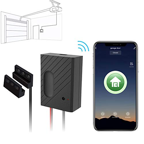 Smart Garagentor Controller WiFi Switch Kompatibel Garagentoröffner Smart Phone Fernbedienung Timing Funktion Sprachsteuerung