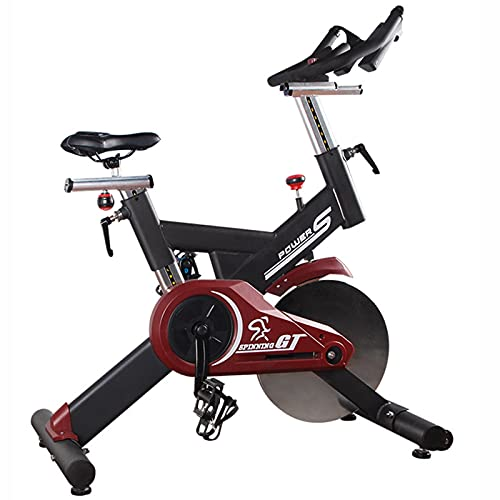 Spinning Bike Indoor Exercise Bike, Home Gym Aerobic Exercise Spin Bike, Stationary Bicycle with 18kg/40lb Steel flywheel
