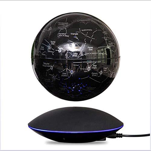 LIERSI LED Schwebender Globus Nachtlicht, Magnetschwebebahn Globus, Anti Gravity Weltkarte, Kind-Geschenk, Büroregal Schlafzimmer Wohnkultur