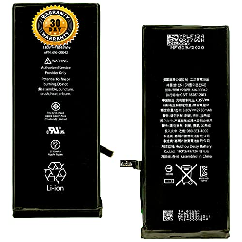 ZORAIZ ORIGINAL Battery Compatible with iPhone 6 Plus 6+ A1522 A1524 A1593 (2915mAh)