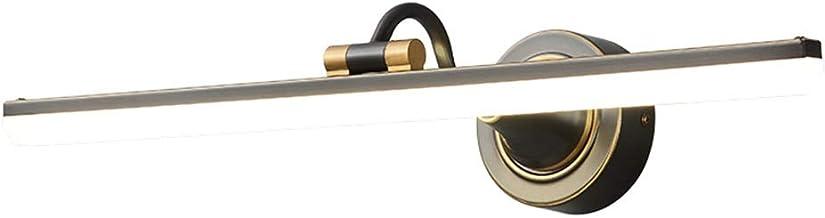 - Badkamerlamp Nordic Copper luxe LED-spiegel-koplamp, Europese en Amerikaanse waterdichte dressing make-up energie saving...