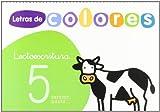 Letras de Colores 5 Cuad Lectoescritura Version Pauta Santillana