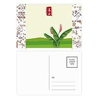 丸月至二十四の太陽の語 公式ポストカードセットサンクスカード郵送側20個
