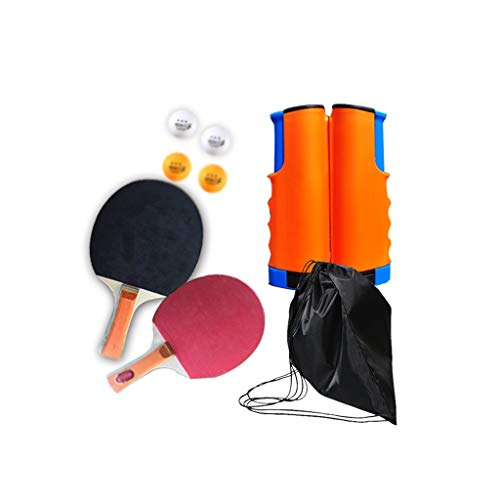 Best Deals! LFLLFLLFL Portable Ping Pong Paddle, Daily Training Outdoor Activities Gifts (Color : C)