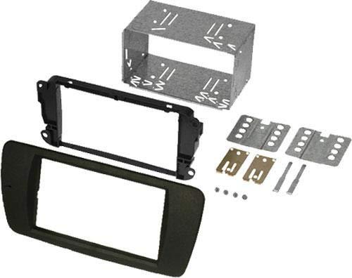 Kit Facade Autoradio KA255E compatible avec Seat Ibiza - noir azabache AL6