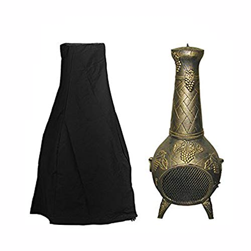Zulux Chiminea Cover - Premium Outdoor Cover with Durable Waterproof 190T...