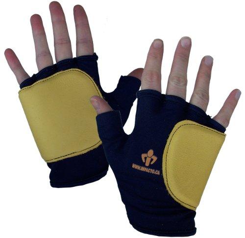 Impacto 50320110030 Anti-Impact Glove, Blue/Yellow