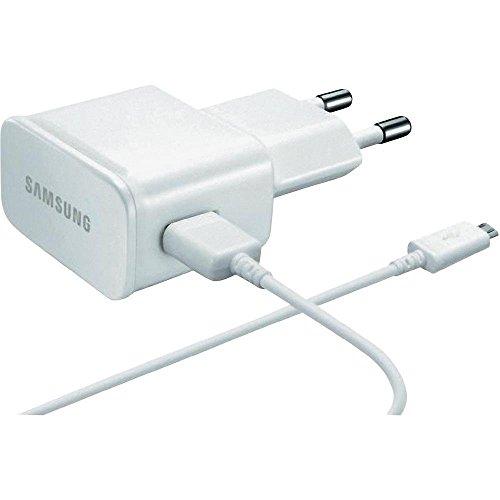 Original Weiß 2000 mAh (2 Amp) Samsung Micro USB 2 Pin Netzladegerät an Bulk Verpackung Geeignet für Samsung Galaxy Tab S2 9.7, Galaxy Tab S2 8.0